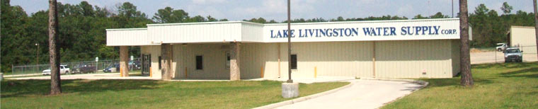 Lake Livingston Water Supply